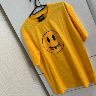 drew house    ドリューハウス Tシャツ イエロー XL(Tシャツ/カットソー(半袖/袖なし))