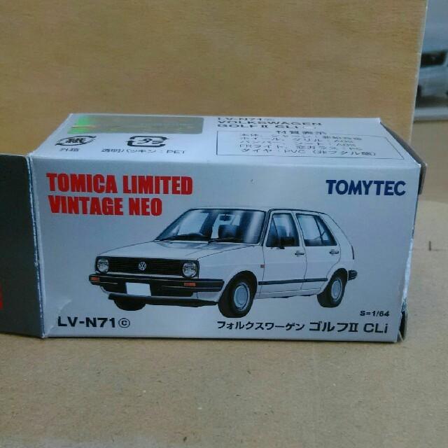 Takara Tomy(タカラトミー)のトミカリミテッドヴィンテージ フォルクスワーゲンゴルフⅡ 白 エンタメ/ホビーのおもちゃ/ぬいぐるみ(ミニカー)の商品写真