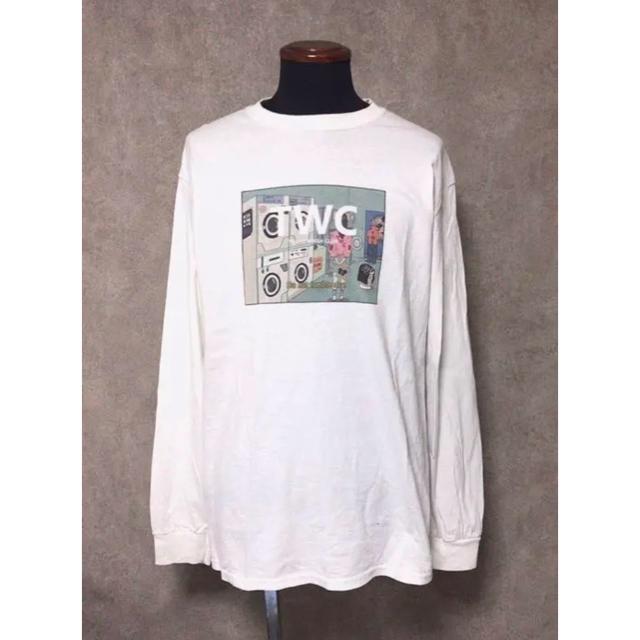 Supreme(シュプリーム)の送料込み tokyo wash club × ciatre ロンT ホワイト レディースのトップス(Tシャツ(長袖/七分))の商品写真