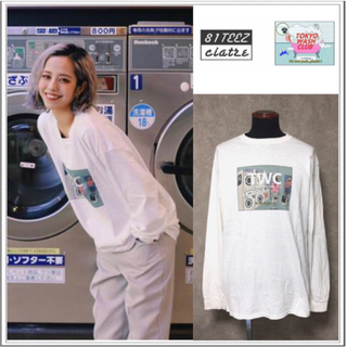 Supreme - 送料込み tokyo wash club × ciatre ロンT ホワイト