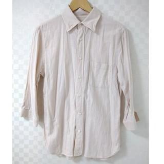 ハレ(HARE)のHARE  ハレ リネンシャツ 7分袖 ピンク(シャツ)