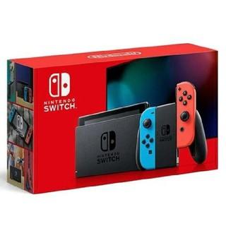 Nintendo Switch - 【10/1購入】新品 ニンテンドースイッチ 新型 本体  ネオンレッド