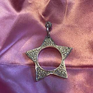 ディオール(Dior)のディオール 星型 リング ペンダントヘッド(リング(指輪))