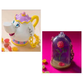 Disney - ミニスナックケース ディズニーランド 美女と野獣 新ファンタジーランド
