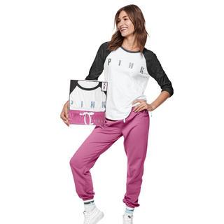 ヴィクトリアズシークレット(Victoria's Secret)のプレゼントに‼️VS PINK Mサイズ♡上下セットアップ 新品Box入り(セット/コーデ)