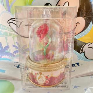 ディズニー(Disney)の美女と野獣 バラ ローズティー 紅茶 缶 未開封 ニューファンタジーランド(茶)