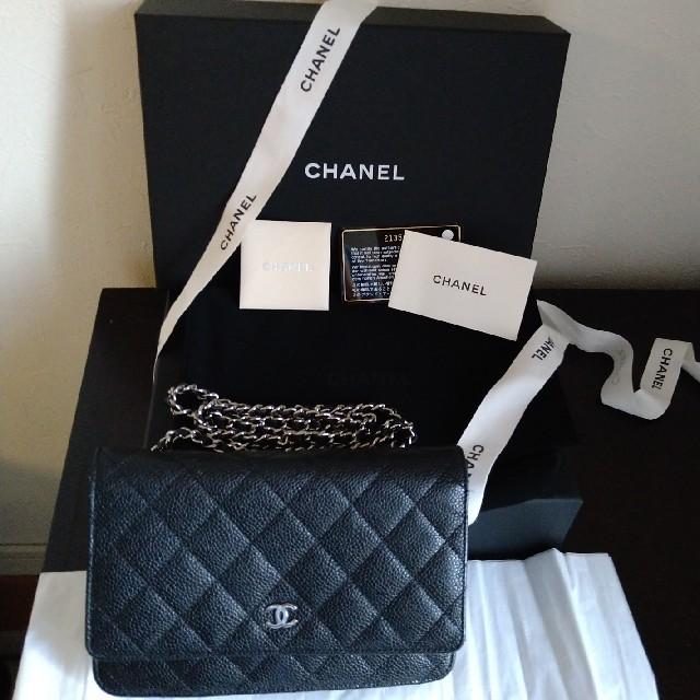 CHANEL(シャネル)のシャネルチェーンウォレット レディースのバッグ(ショルダーバッグ)の商品写真