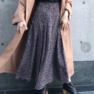 カプリシューレマージュ(CAPRICIEUX LE'MAGE)のレオパードスカート(ロングスカート)
