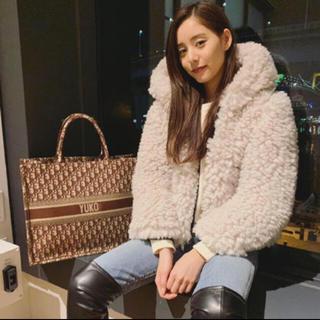 ザラ(ZARA)の新木優子さん私服着用 ZARAファーコート(毛皮/ファーコート)