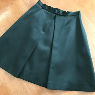 バーニーズニューヨーク(BARNEYS NEW YORK)のヨーコチャン  YOKO CHAN  センタータック スカート(ミニスカート)