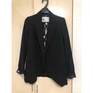 スライ(SLY)のSLY ジャケット ブラック サイズ1(テーラードジャケット)