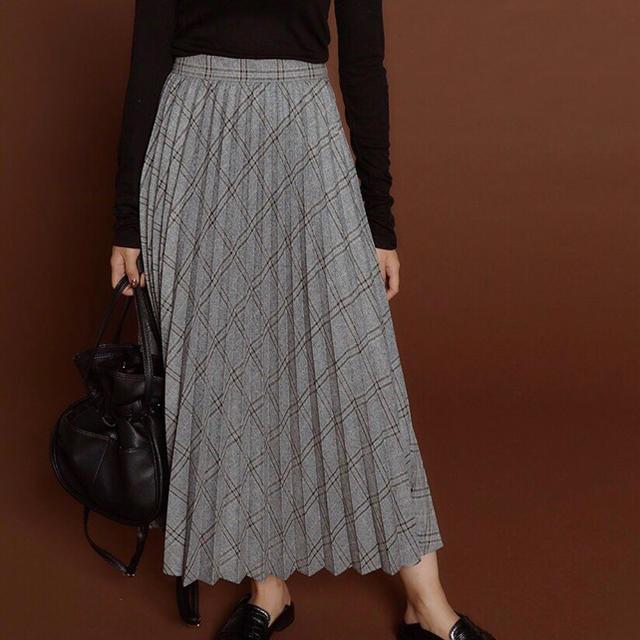 snidel(スナイデル)のrandeboo  プリーツスカート レディースのスカート(ロングスカート)の商品写真