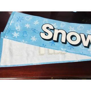 ジャニーズJr. - 訳あり 新品 ❷ジャニーズJr.祭り2019  Snow Man マフラータオル