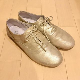 アトリエドゥサボン(l'atelier du savon)のさくらんぼ様専用 テナーチェレースアップシューズ(ローファー/革靴)
