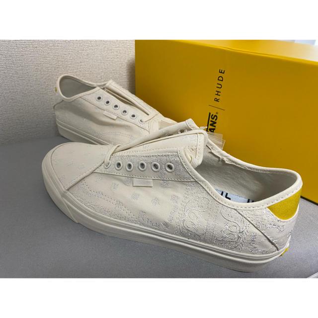 VANS(ヴァンズ)の28 VANS RHUDE Diamo NI BANDANA WHITE 新品 メンズの靴/シューズ(スニーカー)の商品写真