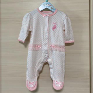 Little Me - 未使用 Little Me 長袖 ロンパース 50 新生児 リトルミー ベビー