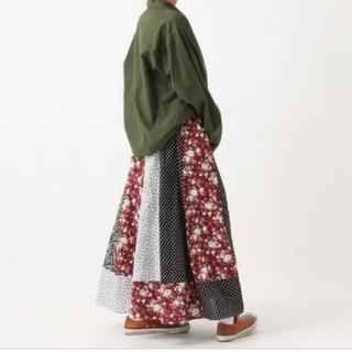レイジブルー(RAGEBLUE)の美品 RAGEBLUE パッチワーク スカート(ロングスカート)