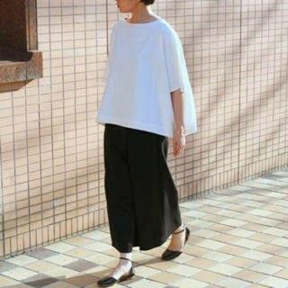 エンフォルド(ENFOLD)のENFOLD サマーコットンワイドTOP ¥24,840(Tシャツ(長袖/七分))