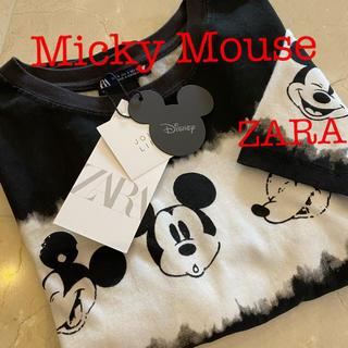 ZARA - ZARA ミッキーマウスTシャツ Micky Mouse ディズニーTシャツ