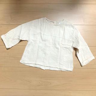 【美品】テータテート  ワッシャー 長袖 90