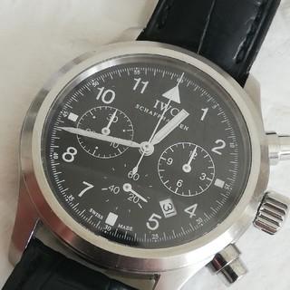 IWC - IWC フリーガー クロノグラフ メカクオーツ メンズ腕時計