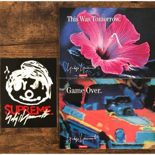 Supreme - Supreme Yohji Yamamoto ステッカーセット 3枚