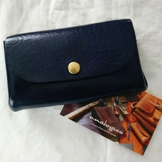 HERZ - アナロジコ 財布 カシメミニ財布 限定 ブルー / HERZ・ organ