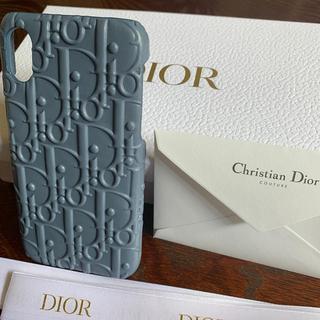 ディオール(Dior)のDior ディオール スマホケース i phone x 新品 未使用(iPhoneケース)
