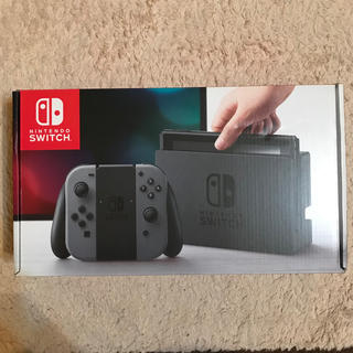 Nintendo Switch - Nintendo Switch グレー 本体 中古品 旧型