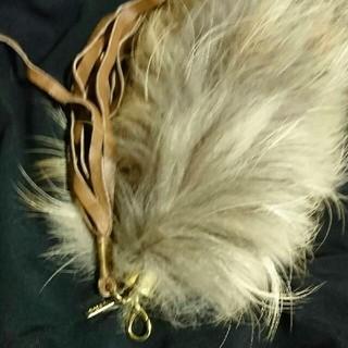 ミスティック(mystic)のバッグ、チャーム、フォックステール(チャーム)