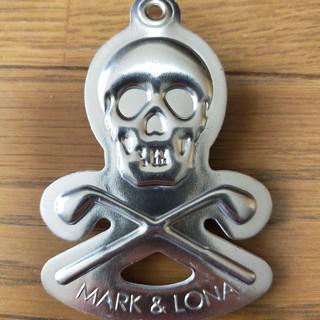 マークアンドロナ(MARK&LONA)のMARK&LONAゴルフ 予備ティーキーホルダー(その他)