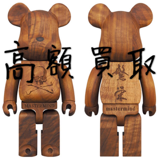メディコムトイ(MEDICOM TOY)のBE@RBRICK 400% カリモク mastermind JAPAN (模型/プラモデル)