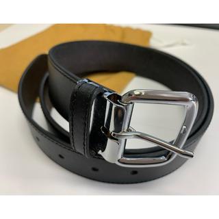 本革ベルト 未使用新古品 日本製 ブラック(ベルト)