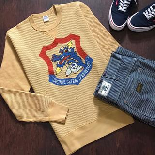 トイズマッコイ(TOYS McCOY)の完売モデル 入手困難 TOYS McCOY ワッフル 長袖 38TH SRS(Tシャツ/カットソー(七分/長袖))