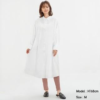 GU - GU▼Aラインシャツワンピース