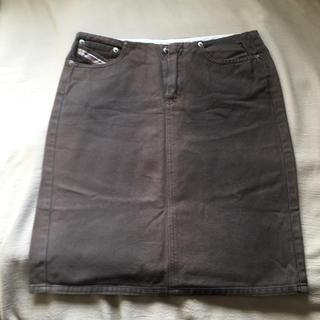 ディーゼル(DIESEL)のDIESEL   コットンスカート  36(ひざ丈スカート)