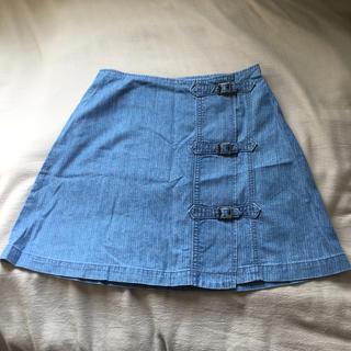 ラルフローレン(Ralph Lauren)のラルフローレン  デニムスカート  S(ミニスカート)