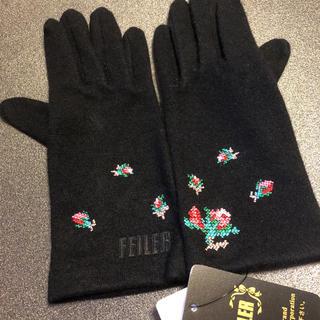 FEILER - フェイラー 手袋 カシミヤ混 【 タグ付き・箱入り 】