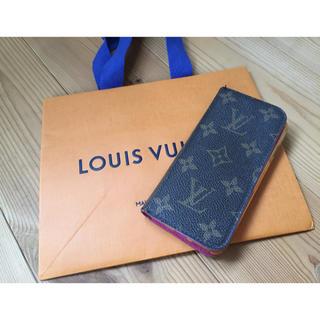 ルイヴィトン(LOUIS VUITTON)のルイヴィトン iPhoneケース iPhone6s マゼンタ(iPhoneケース)