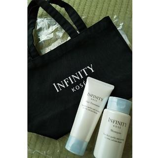 インフィニティ(Infinity)のInfinity 非売品セット(キャンバス地トート、シャンプー&トリートメント)(トートバッグ)
