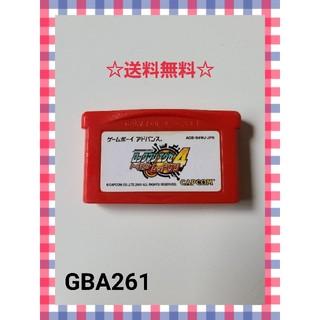 ゲームボーイアドバンス(ゲームボーイアドバンス)のGBA ロックマンエグゼ4 トーナメントレッドサン(携帯用ゲームソフト)