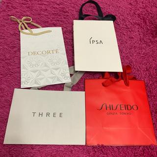 コスメデコルテ(COSME DECORTE)の化粧品ブランドショッパー4点セット(ショップ袋)