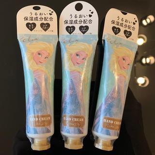 Disneyハンドクリームエルサ ホワイトリリーの香り 3個