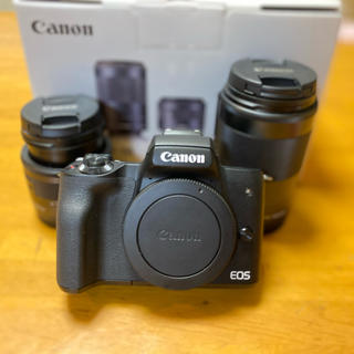 Canon - Canon EOS KISS M Wズームキット(Luk様限定)