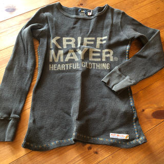 クリフメイヤー(KRIFF MAYER)のロンT クリフメイヤー140(Tシャツ/カットソー)