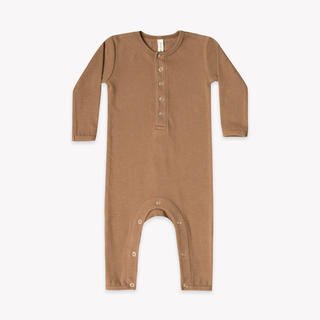 Caramel baby&child  - QUINCY MAE  Ribbed Baby Jumpsuit