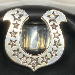 テンダーロイン(TENDERLOIN)のTENDERLOIN テンダーロイン ホースシューリング シルバーダイヤ #13(リング(指輪))