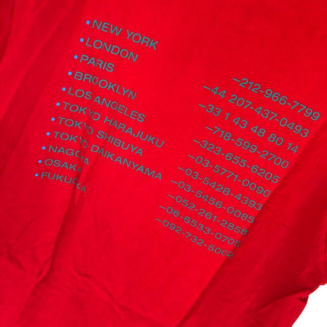 Supreme(シュプリーム)の【値下げ不可】【新品未使用】【supreme】Tシャツ レディースのトップス(Tシャツ(半袖/袖なし))の商品写真