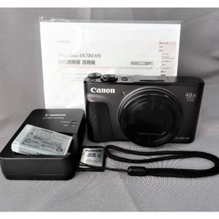 Canon - 自撮り40倍ズームコンデジ  WiFi・チルト液晶搭載