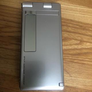 エヌティティドコモ(NTTdocomo)の概ね美品 docomo FOMA P-10A ガラケー 携帯電話 r1102(携帯電話本体)